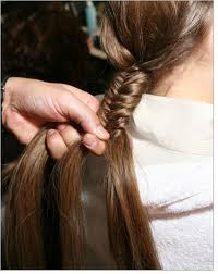 fish tail plait