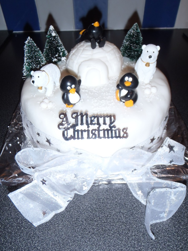 My Christmas Cake I made