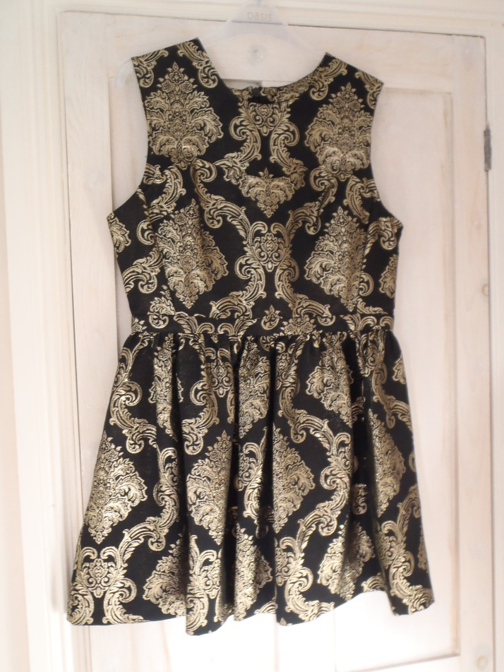 Baroque dress from Oasis
