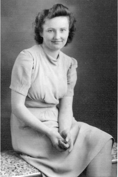 Grandma aged 19 approx