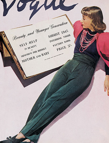 Vogue cover Aug 1943