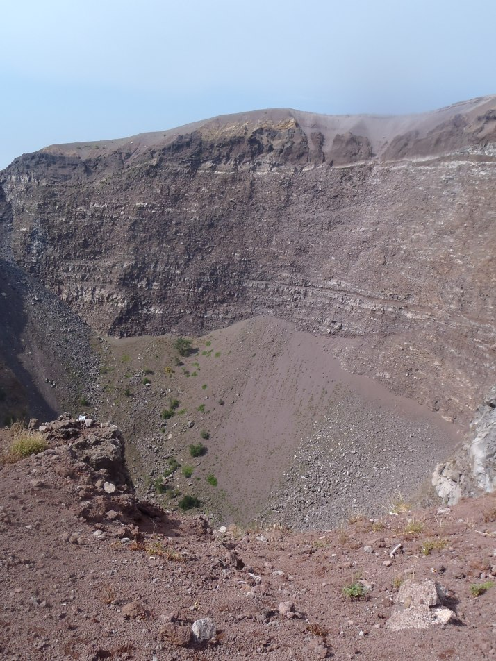 The Crater left by the AD79 eruption