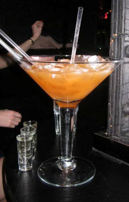 large cocktail