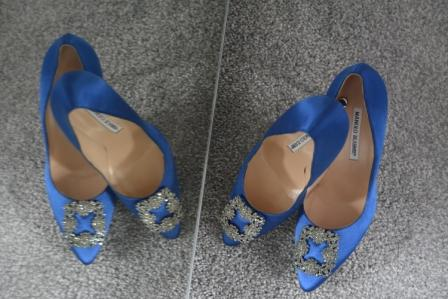 My Manolo Blahnik wedding shoes