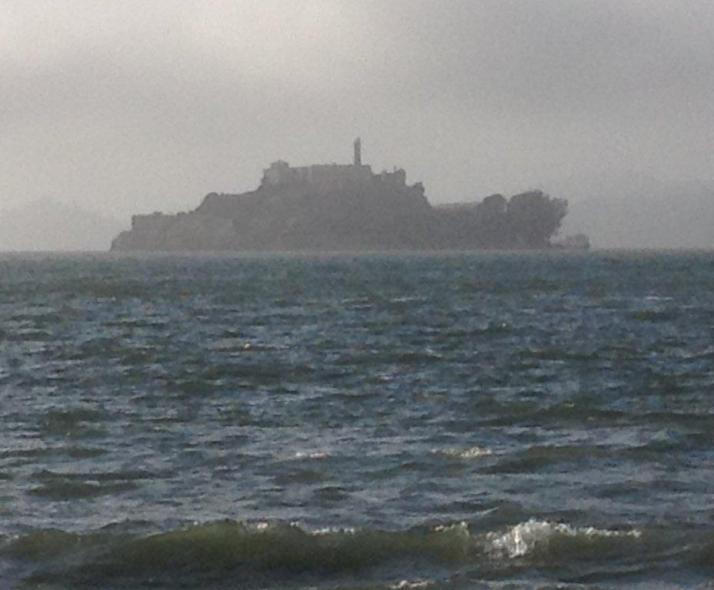 Alcatraz, view from the bay