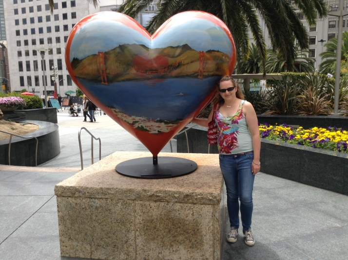 heart in sanfrancisco