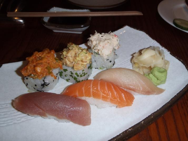 Sushi at Maze