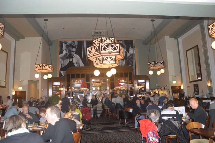 Inside Wetherspoons Whitstable