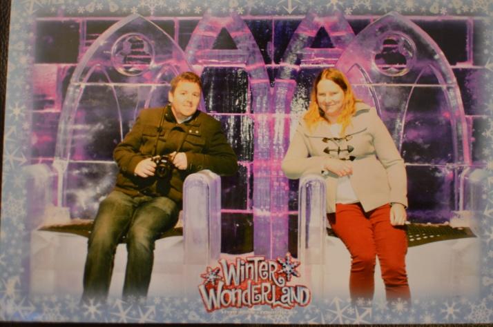 Winter wonderland thrones