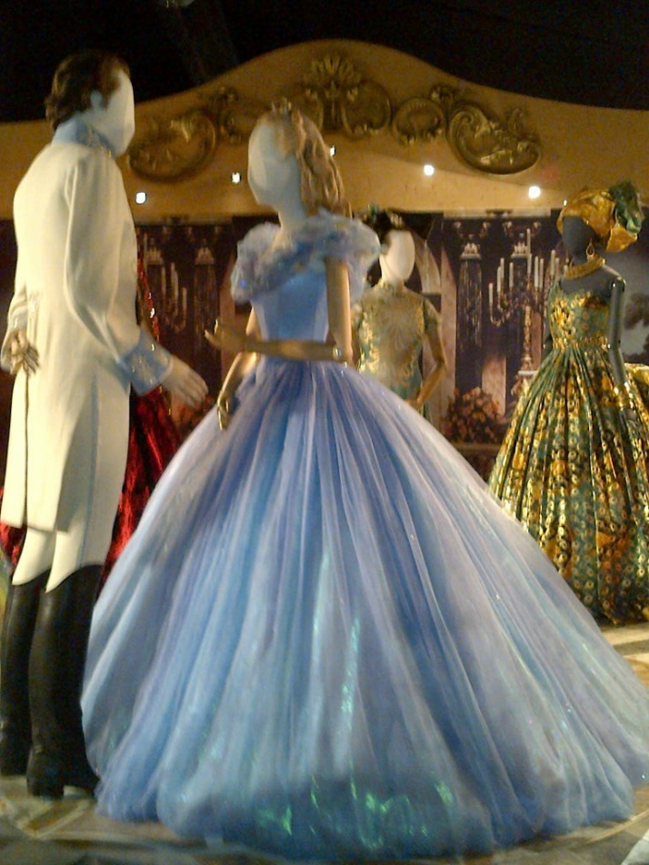 The prince and cinderella at the ball