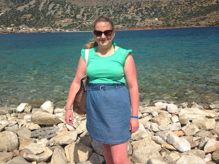 The beautiful island of Spinalonga with a dark past - top and skirt both Oasis