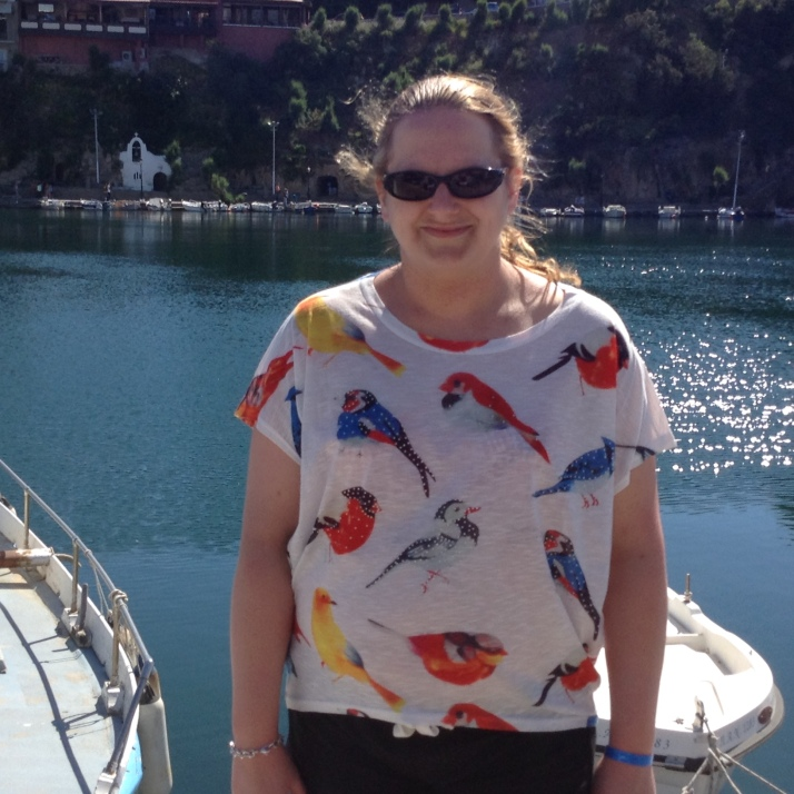 Bird top from Torza boutique in Petts Wood
