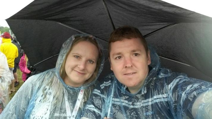 Rain at V
