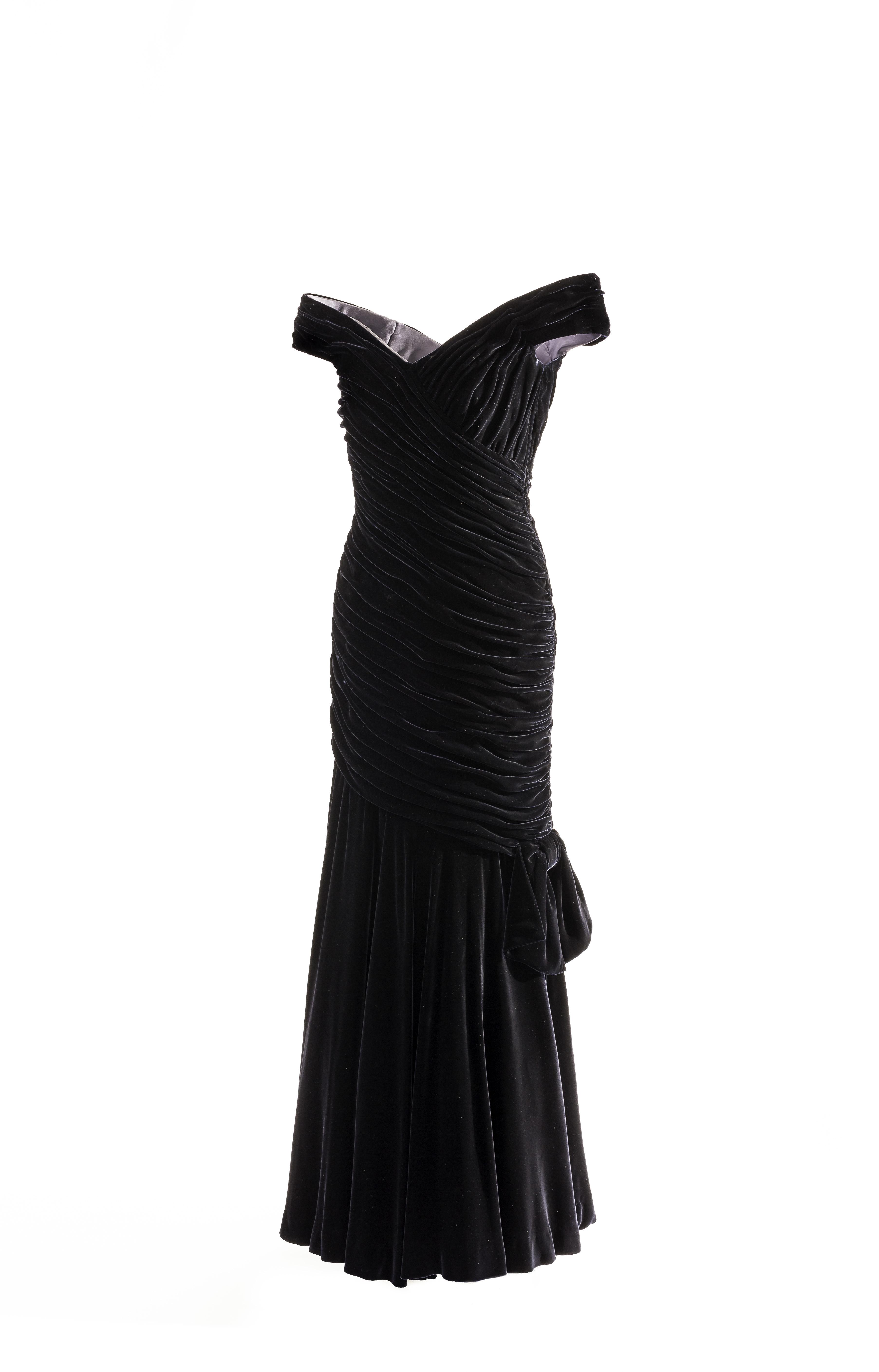 Victor Edelstein, 'Travolta' dress, © Historic Royal Palaces, Newsteam
