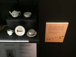 Tea set given to the Queen