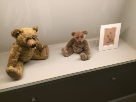 Christopher Robin's bear and EH Shepherd's son's bear