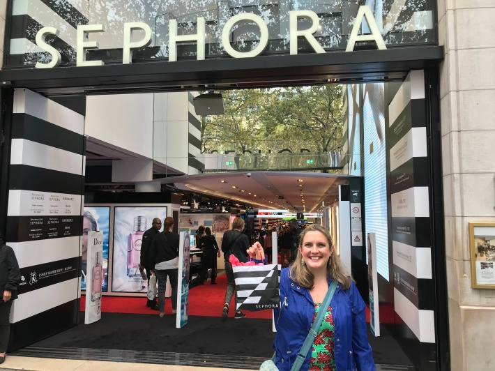 outside sephora